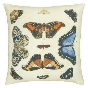 Designer's Guild Mirrored Butterflies Pillow